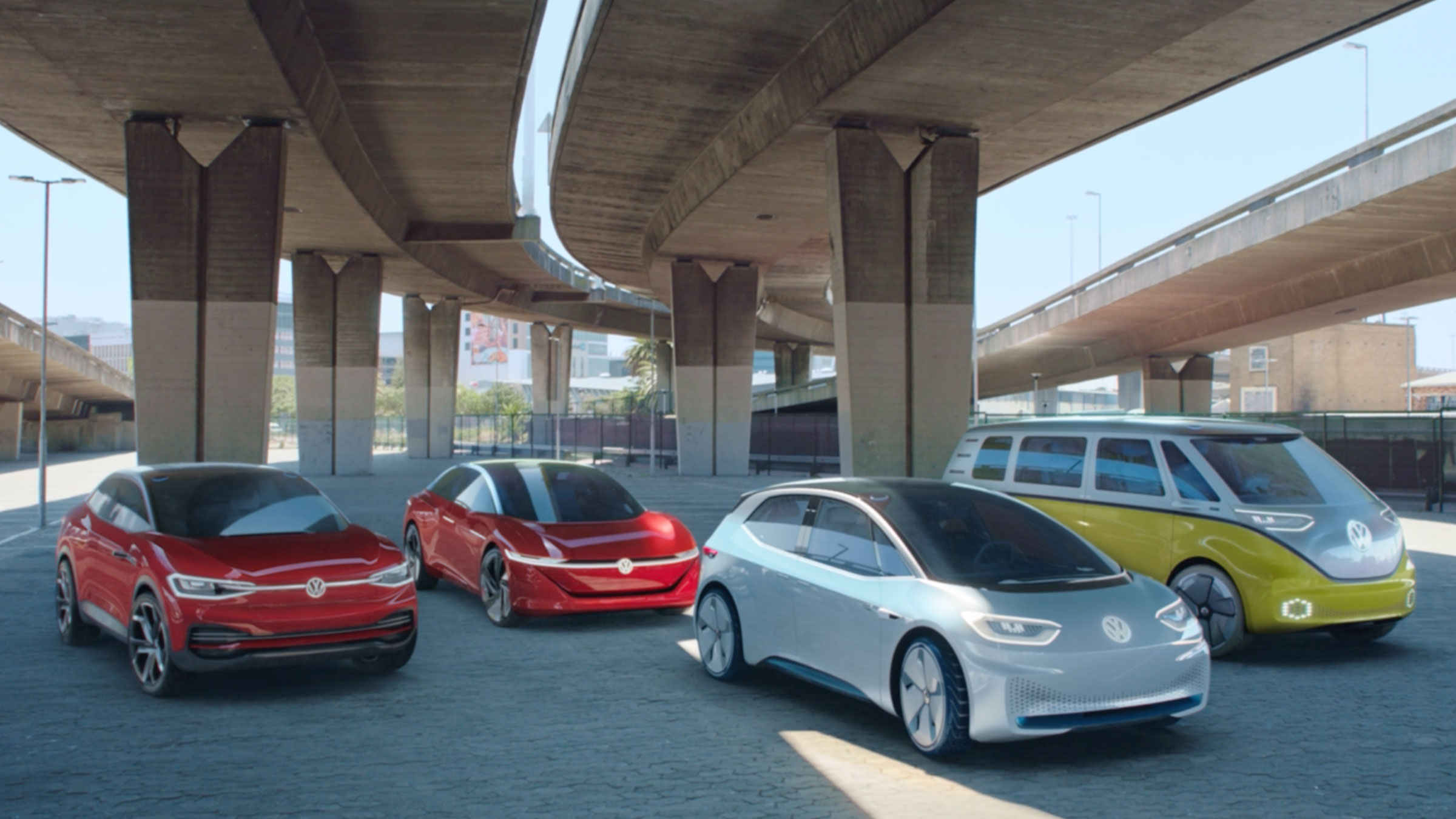 Volkswagen ID., just electric.